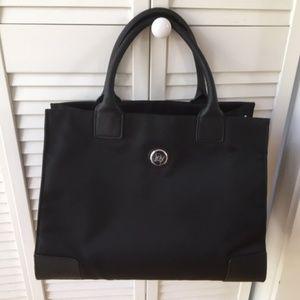 Roomy black purse, waterproof, with built-in RFID!